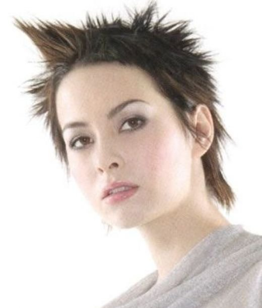 short spiky hairstyles for women short spiky hairstyles for women