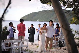 Maho Beach wedding