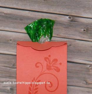 Verschluss der Verpackung für ein Nimm 2 Bonbon