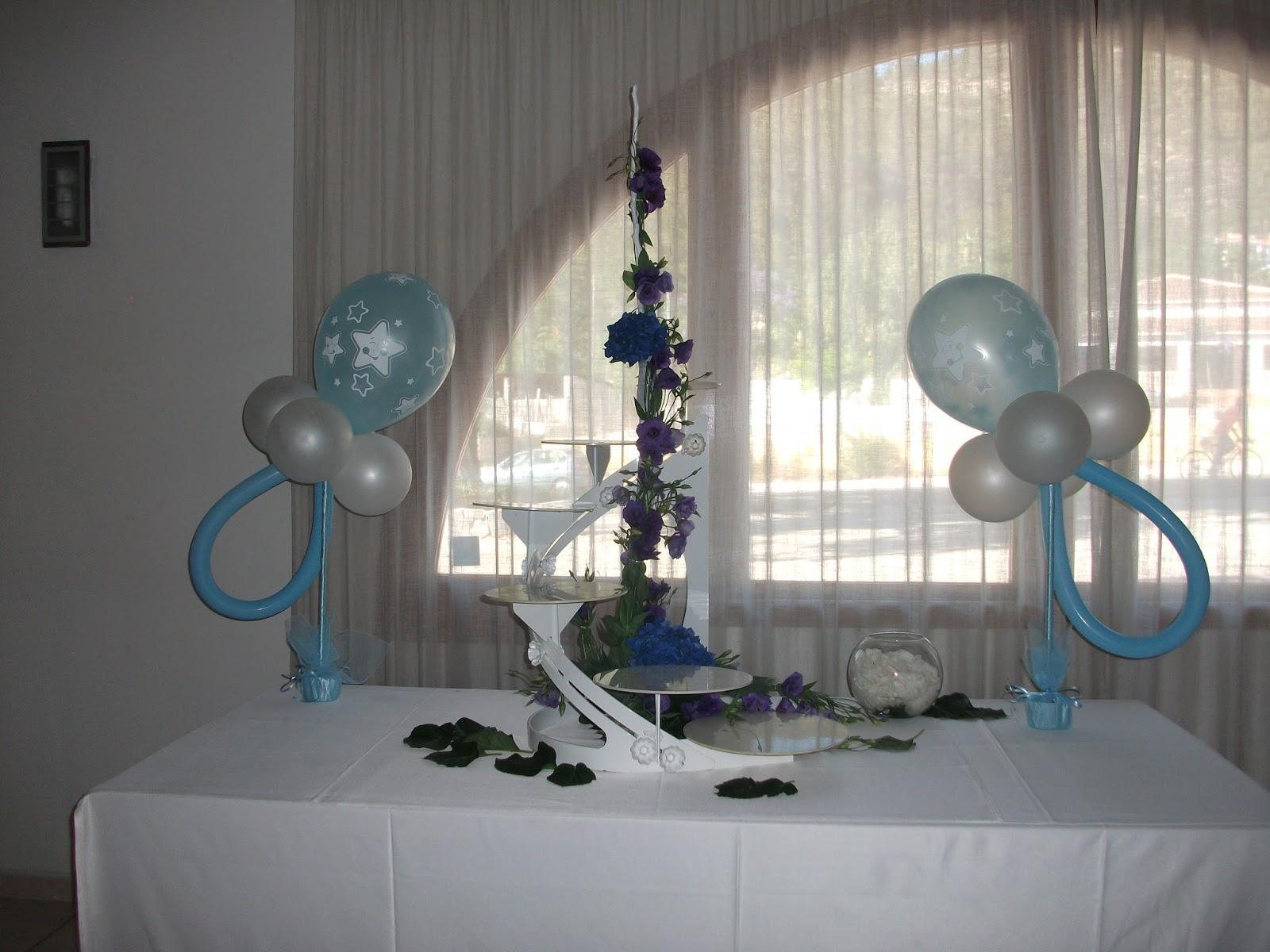 Decoraci n con globos de todo fiesta - Decoracion columnas salon ...