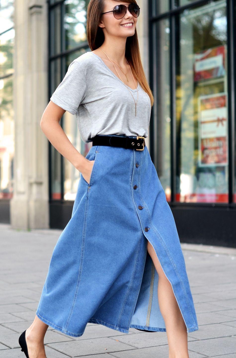 jeans | dluga spodnica | przyjemnosci za darmo | blogi o modzie | blog o modzie | blog modowy | blogerka modowa krakow