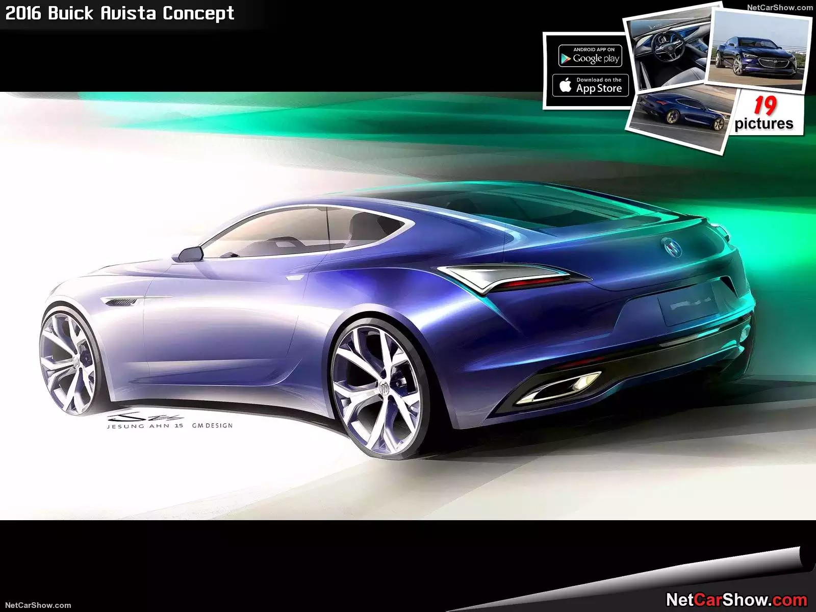 Hình ảnh xe ô tô Buick Avista Concept 2016 & nội ngoại thất