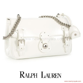 Crown Princess Victoria Style RALPH LAUREN Ricky Chain Bag and RALPH LAUREN Celia Pumps
