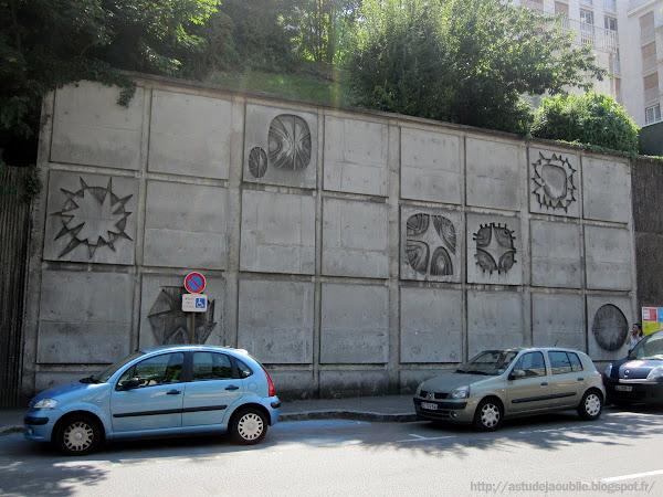 Sèvres - Animation murale