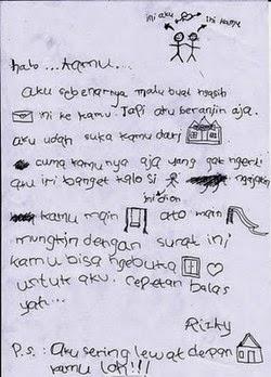 Inilah Kumpulan Surat Cinta Romantis Terlucu