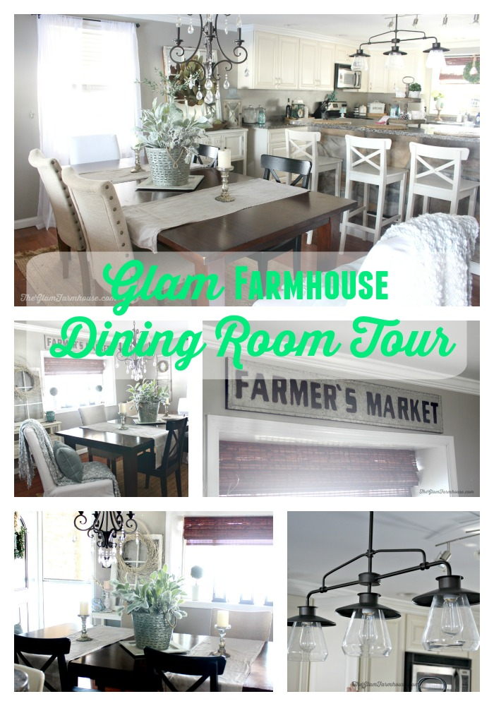 Rustic Glam Dining Room Tour With Before Afters