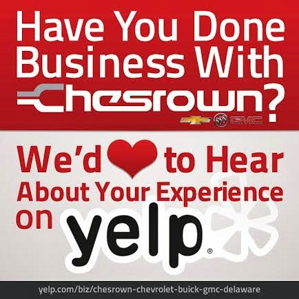 Chesrown Chevrolet Buick GMC is on Yelp!