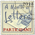 Join me for A Month of Letters
