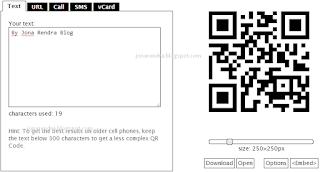 Membuat QR Kode Sendiri Dengan Goqr.me