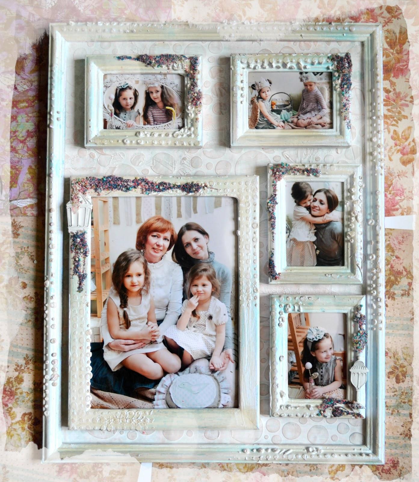 Как сделать фото много фотографий в одной рамке
