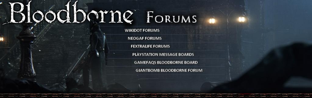 Bloodborne Discussion