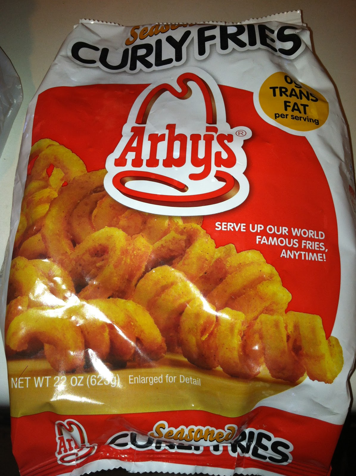 French Fry Diary 409 Arbys Frozen Fries