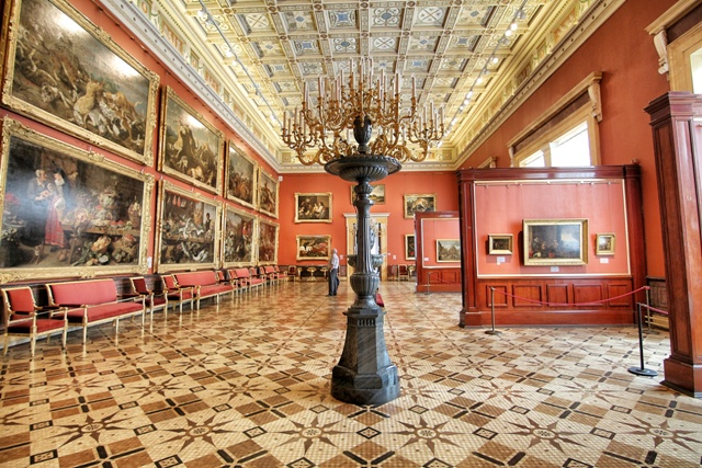 La Pinacoteca del Palacio de Invierno: Hermitage