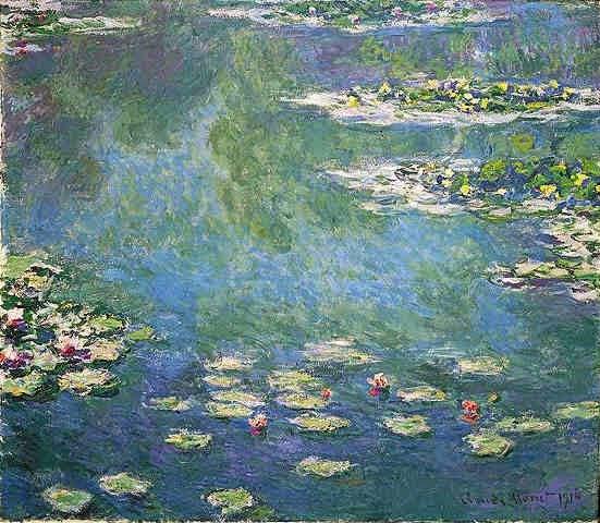 Claude Monet Nymphéas. 1906 Sotheby's. 2002