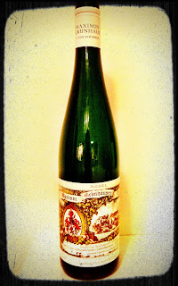 Tasting note for the 2010 Maximin Grünhaüser Riesling Qba Feinherb