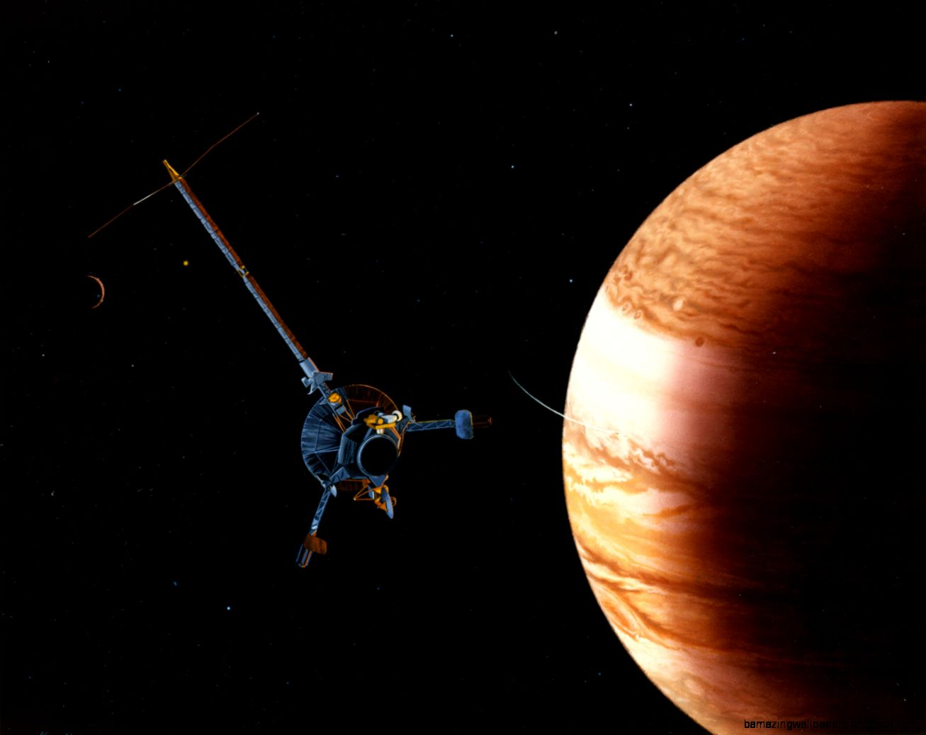 Galileo Probe Jupiter Statistics   Pics about space