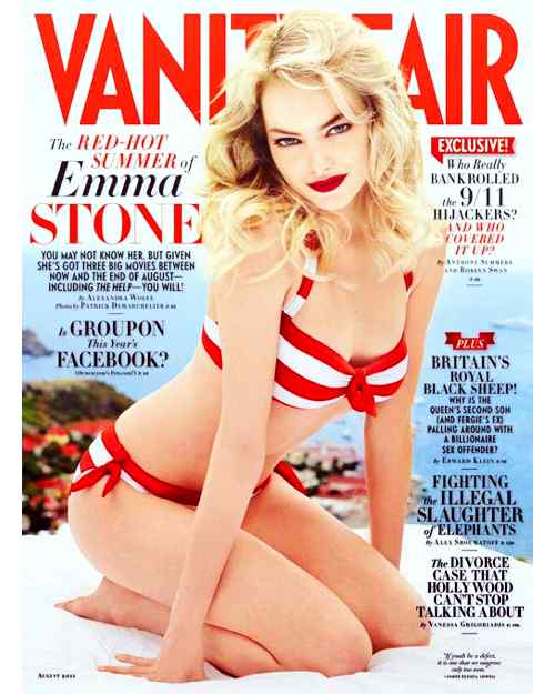 Emma Stone sexy in Vanityfair Magazine ( 2011)