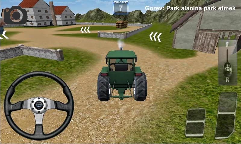 Android Traktör Sürme Oyunu 3D Apk resimi