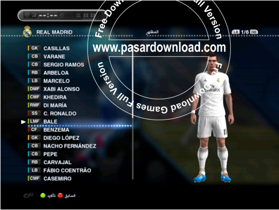 Update Terbaru PES 2013 SUN Patch 1.01 Full Winter Transfer Februari