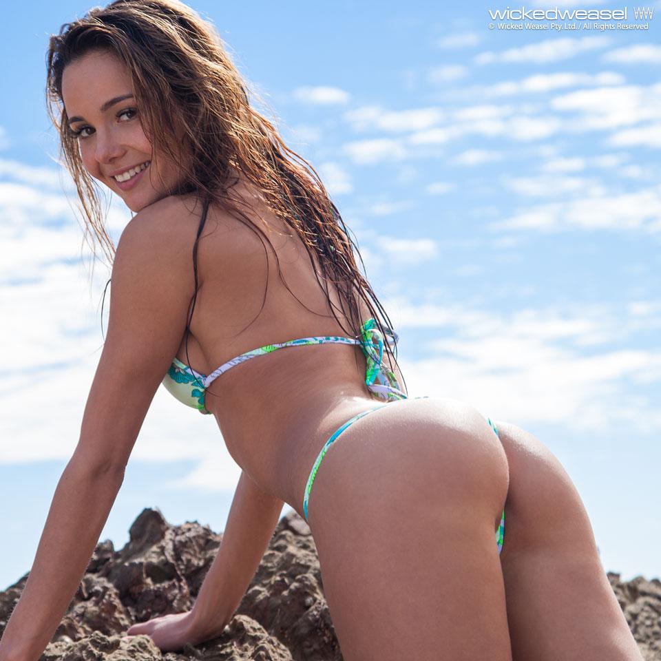 Sexy Latina Playing Herself