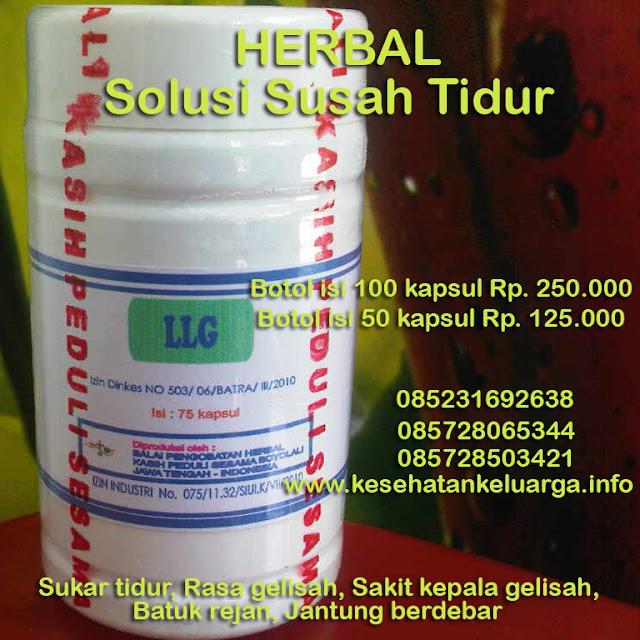 Obat herbal sukar tidur 085231692638 atau 085728065344 atau 085728503421 LLG keluargasehat