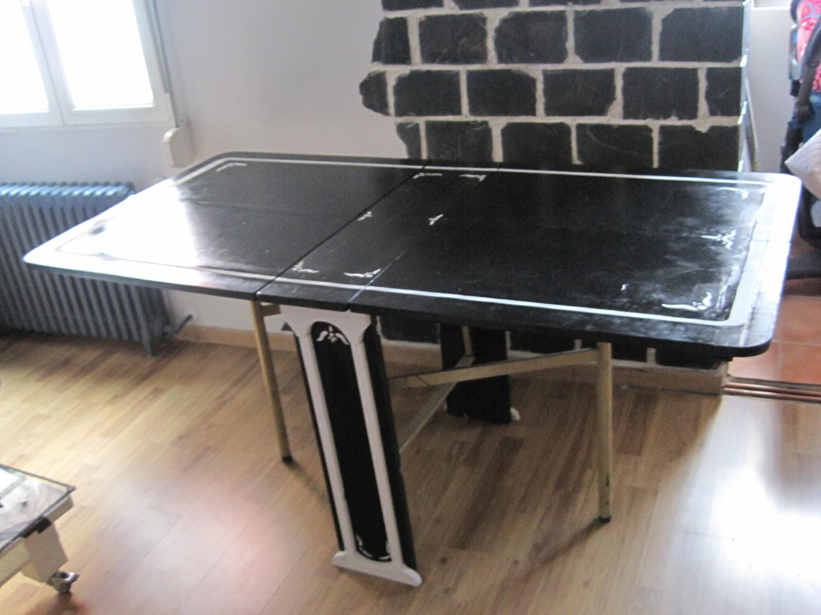 Creando mesa plegable de sal n for Mesa plegable salon