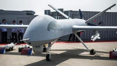 Pesawat Tanpa Awak China Siap Bersaing Dengan Amerika