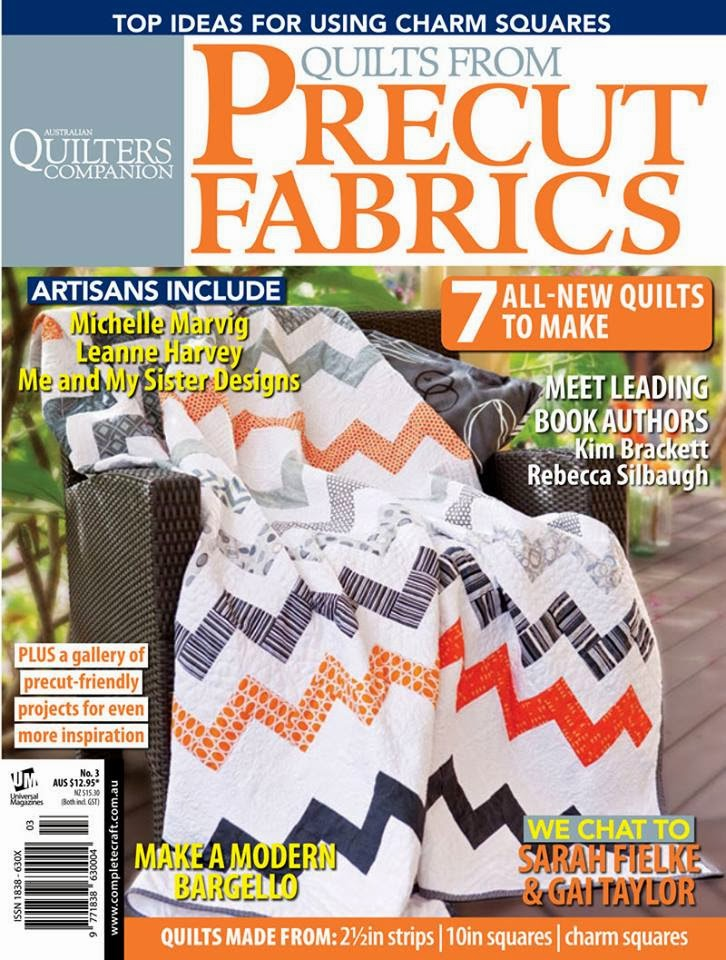 Quilts From Precut Fabrics Issue #3