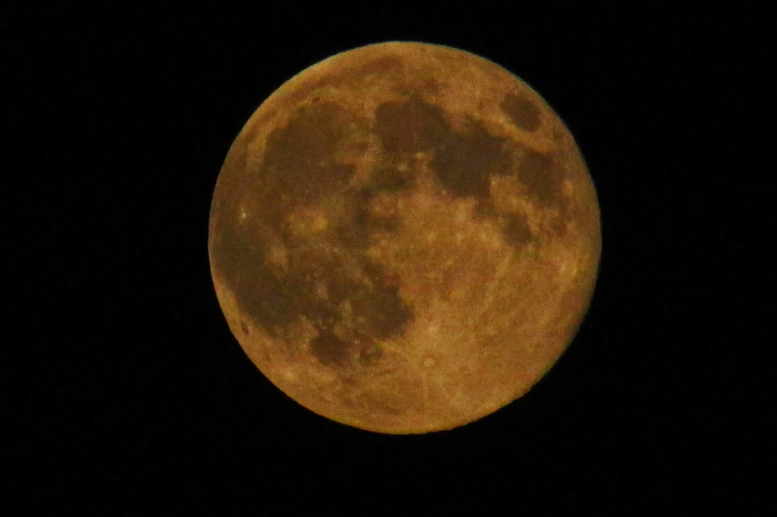 nyc supermoon photo closeup