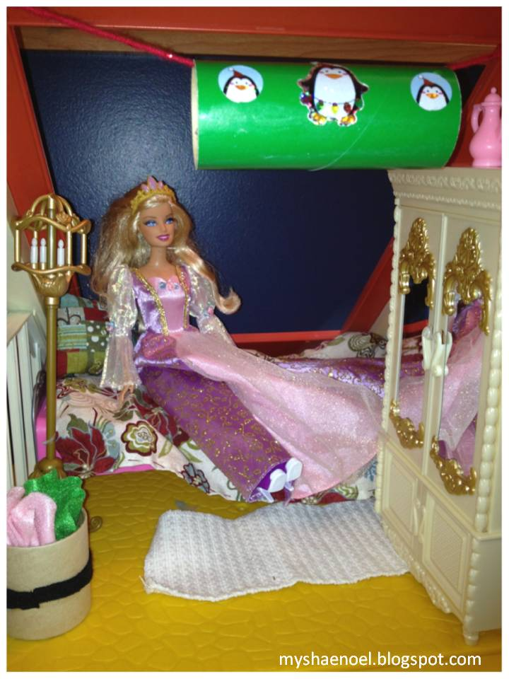 Learn and grow designs website barbie house christmas for Decoration barbie