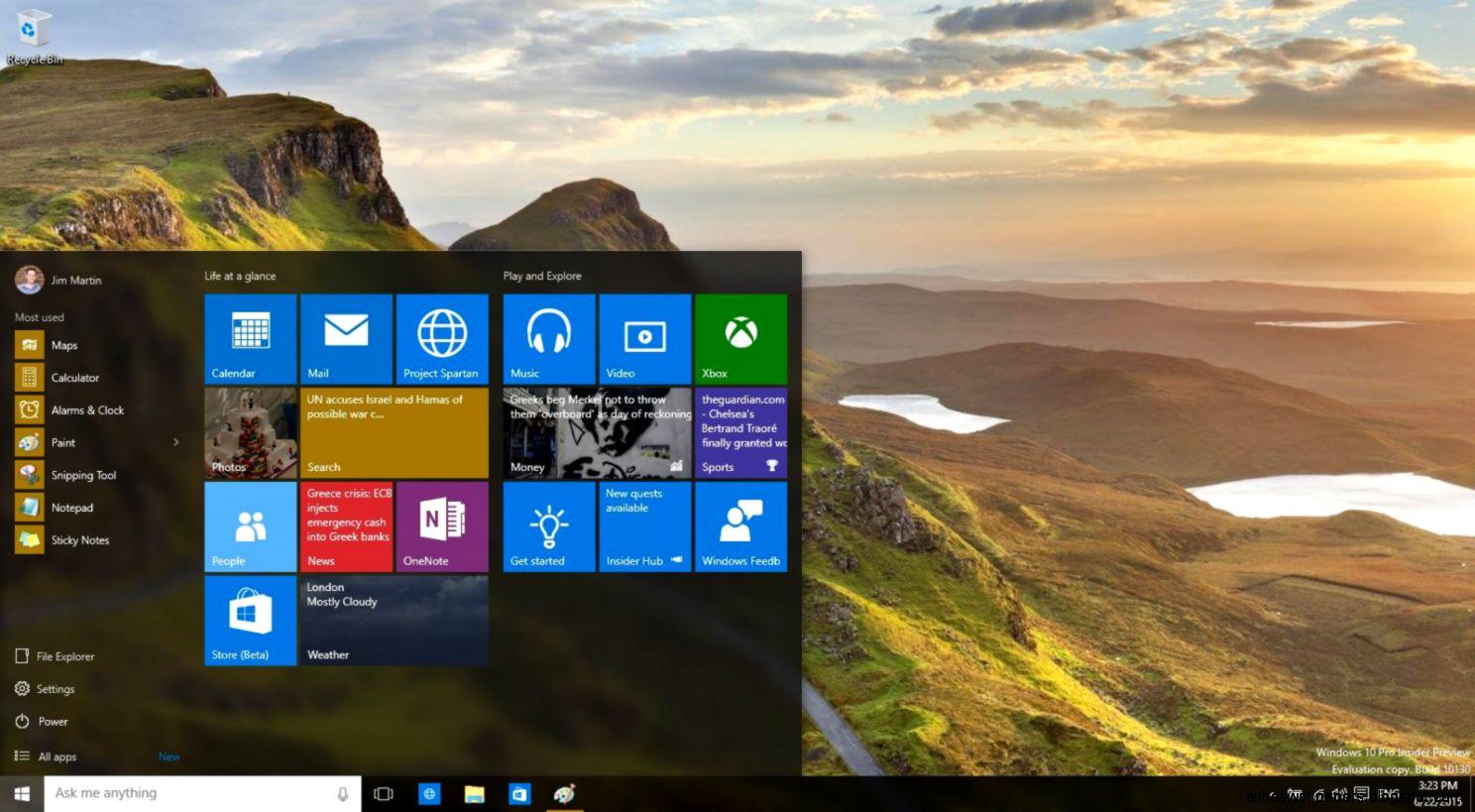 Windows 7 vs Windows 10 comparison Whats the difference