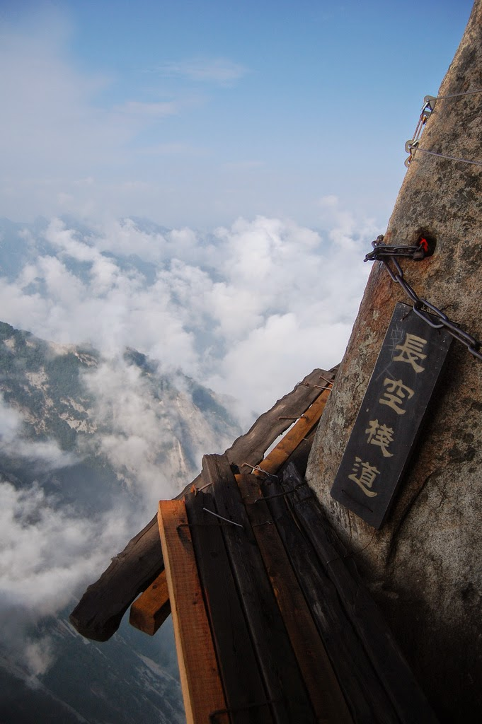 Hua shan mountain china