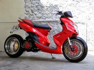 Simple Modifikasi Yamaha Mio LowRider