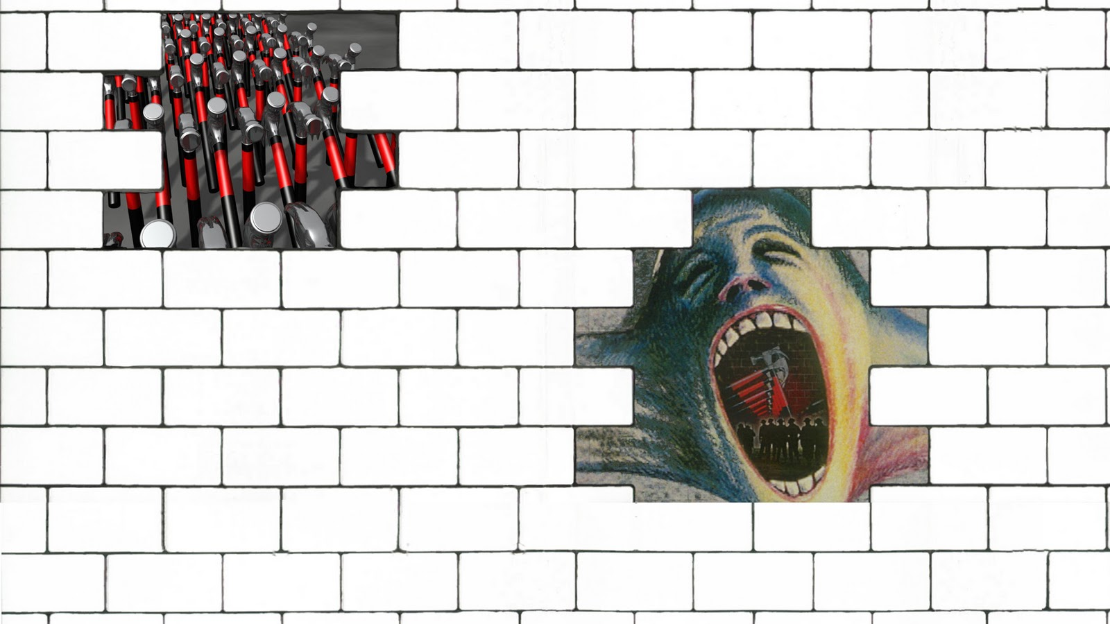 Twisted 39 s wallpapers pink floyd the wall Wallpapers for the wall