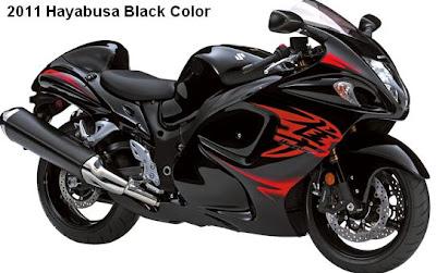 2011 Suzuki Hayabusa black color