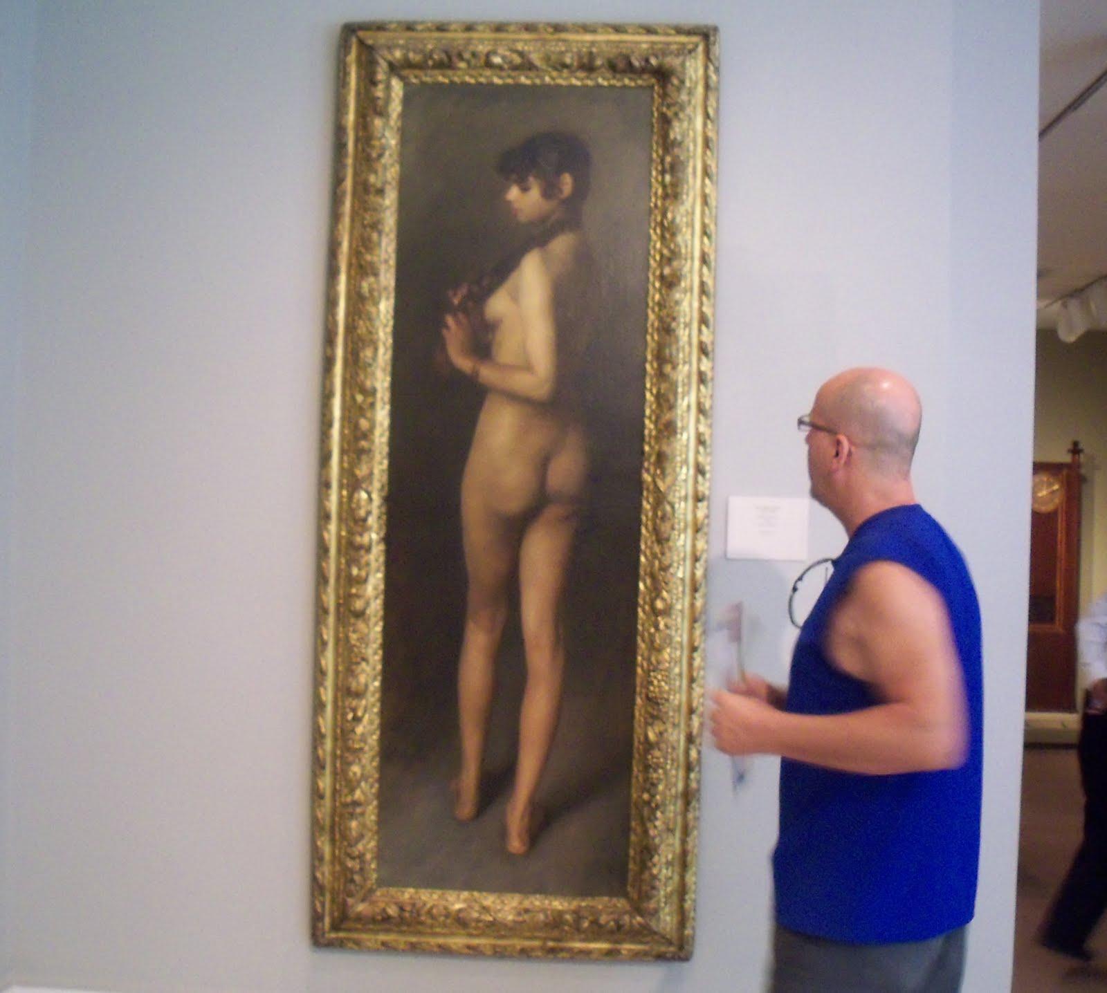 CHICAGO ART INSTITUTE : RARE NU PAR SARGENT
