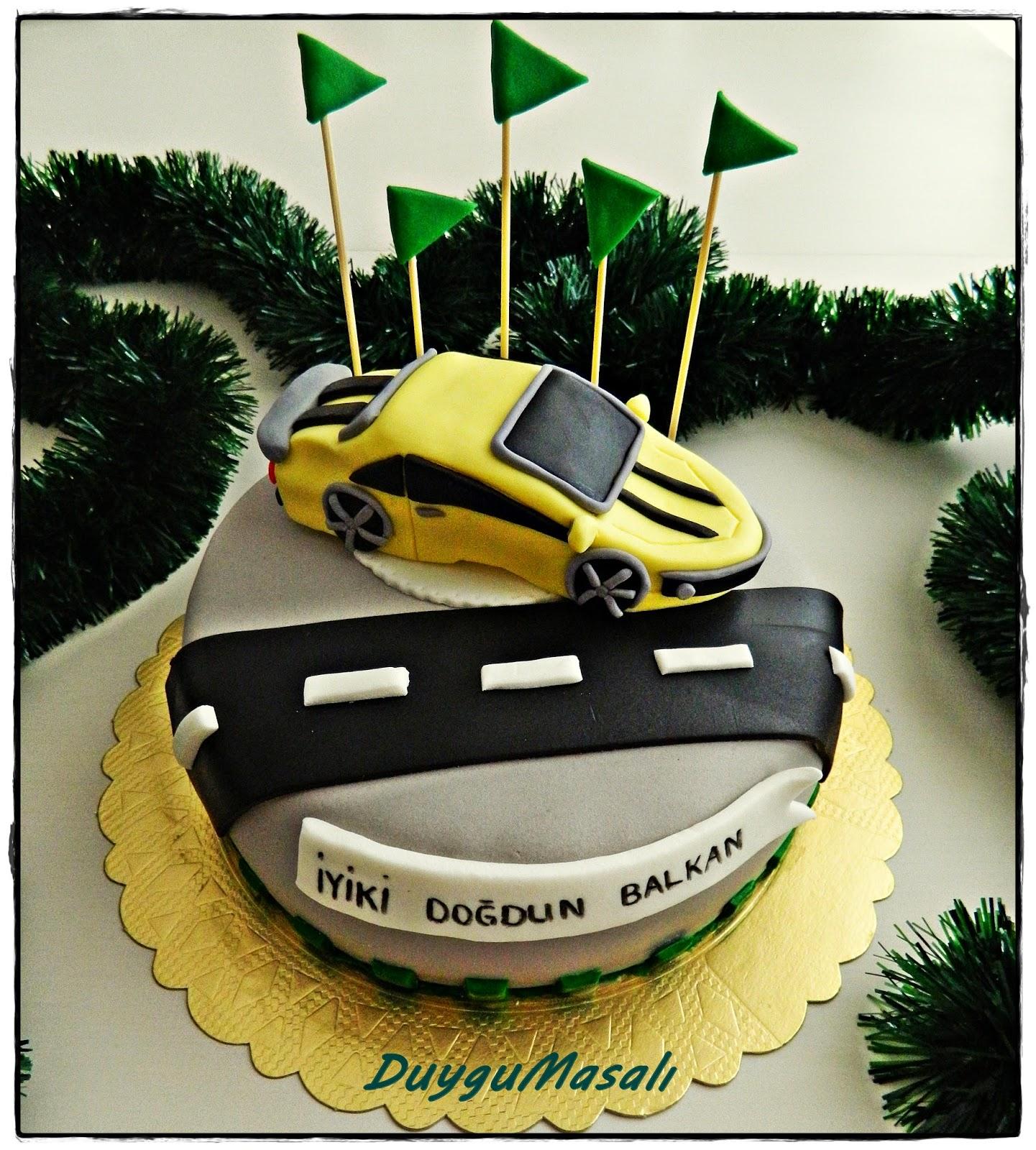 edirne erkek çocuk doğum günü pasta