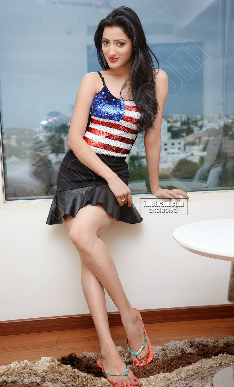 Richa Panai mini skirt black
