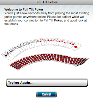 Full Tilt Poker down