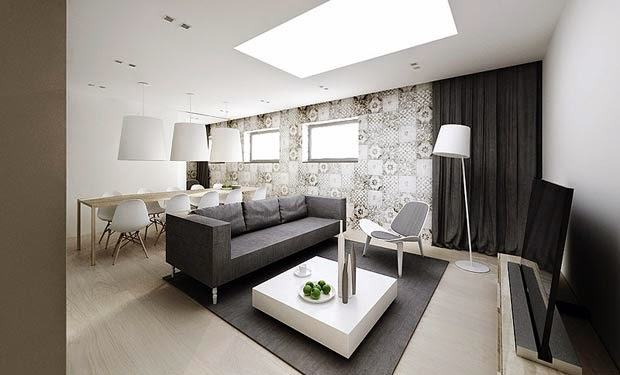 Stylish minimalist home design and decor minimalist homes for Minimalist decor apartment