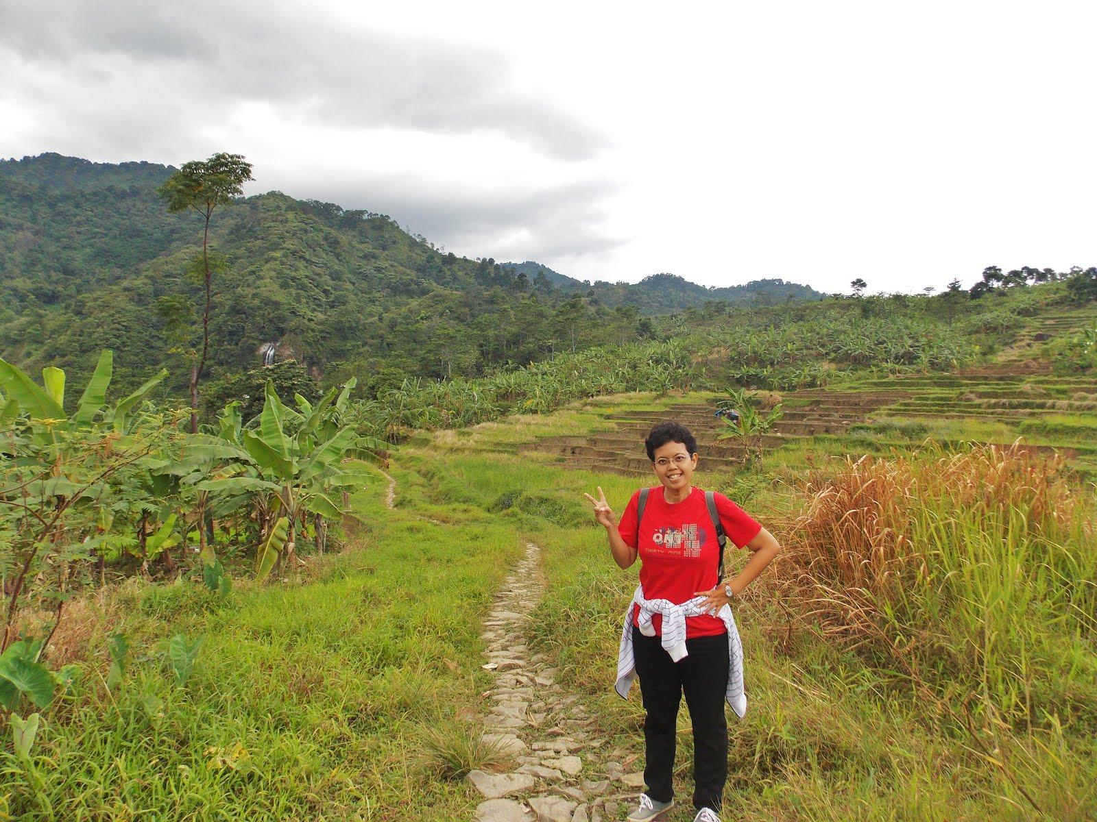 Trekking to Curug Bidadari