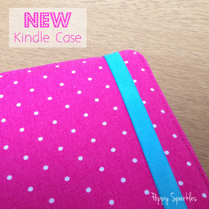 Love my new polka dot Kindle case #kindle #reading