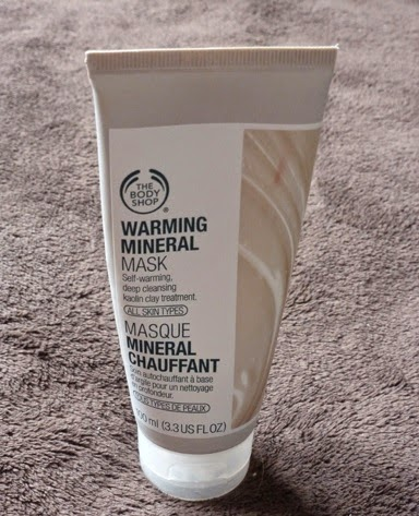 Warming Mineral Mask, by The Body Shop