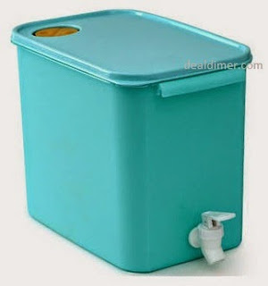 Tupperware Turquoise Water Dispenser