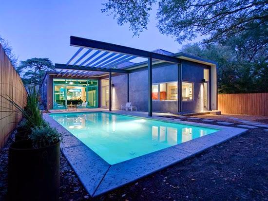 Contoh Rumah Minimalis Dengan Kolam Renang