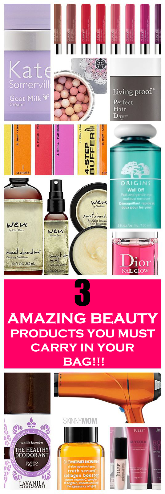 3 most Amazing beauty products you must have in your bag