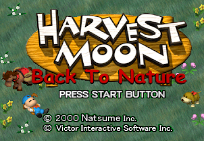 Harvest Moon: Back to Nature For PC Full Version