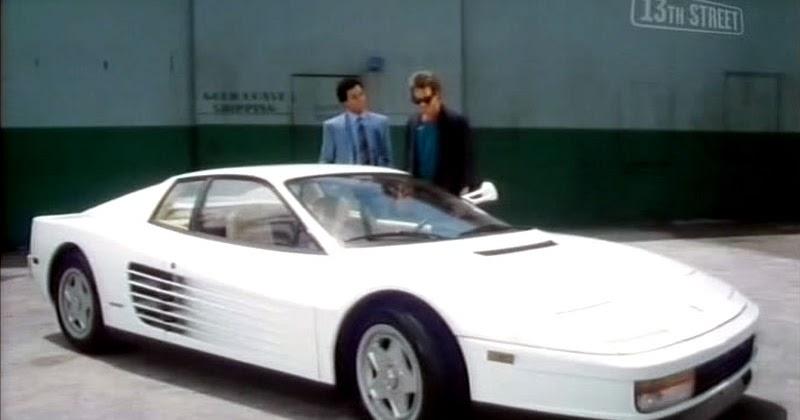 Ferrari Testarossa from Miami Vice the 80s TV Show - Cool ...