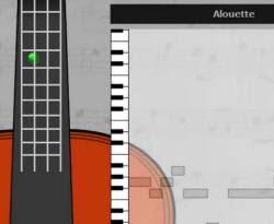 Siti per musicisti per suonare seguendo accordi e note sullo schermo