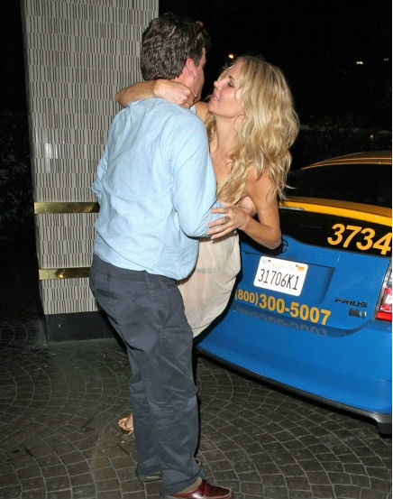 Brandi Glanville really had a great time on Monday night.